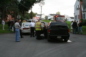 Linn Street Accident.